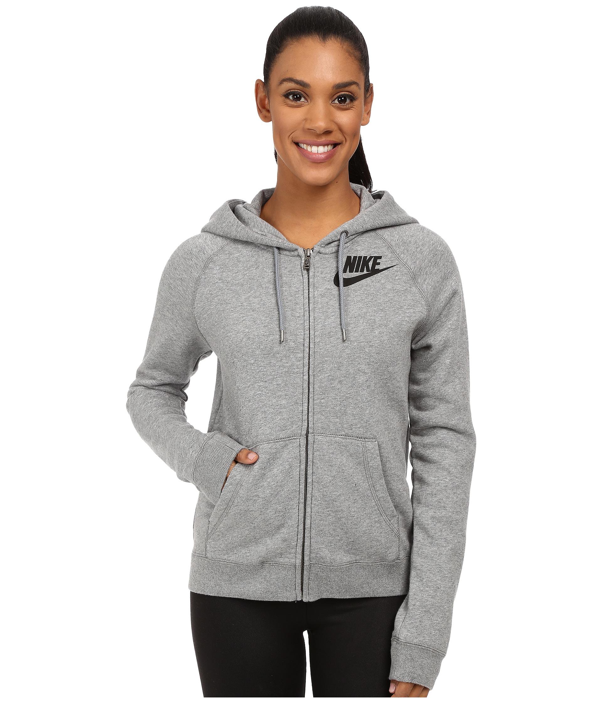 size 40 c8047 c4ada Nike Rally Full-zip Hoodie in Black - Lyst