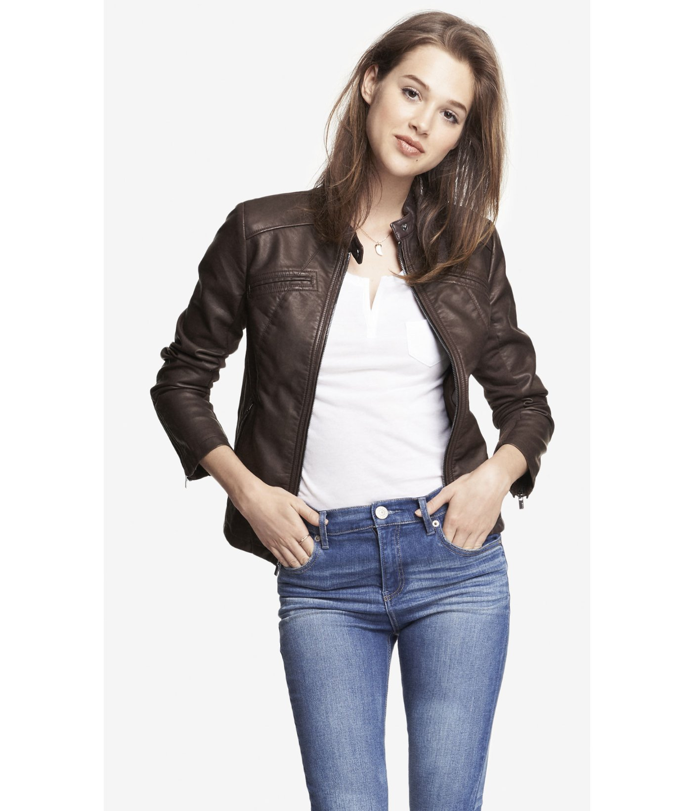 Leather jackets express
