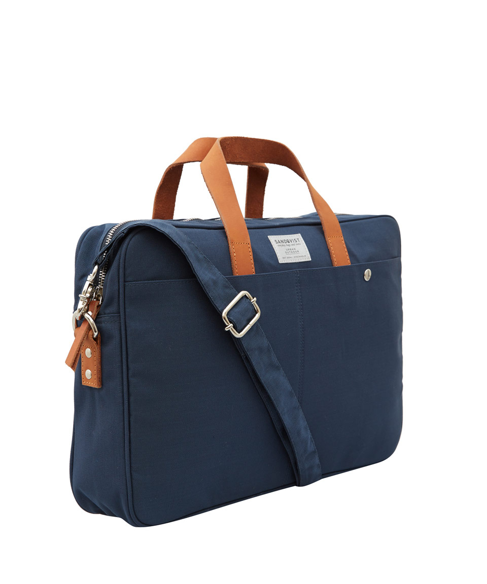 bbff9da18035 Lyst - Sandqvist Blue Mats Laptop Bag in Blue for Men