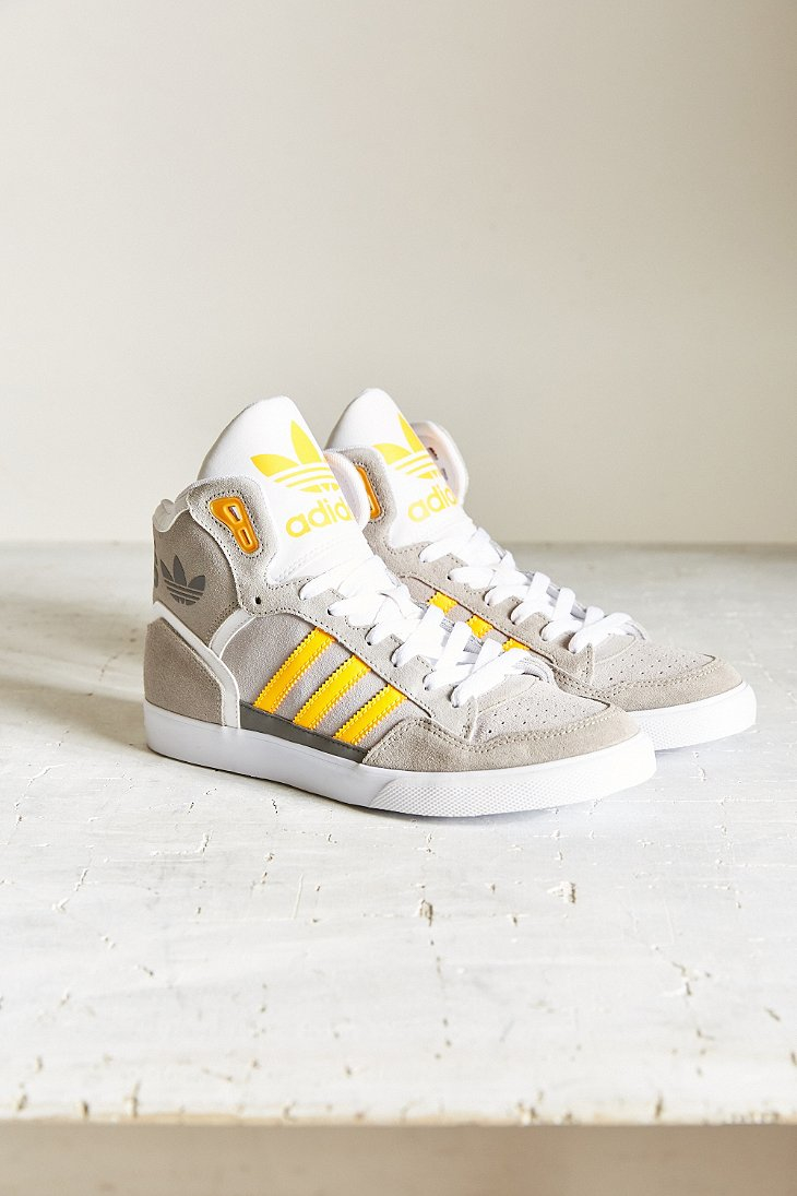 on sale 4027f 4eb24 Lyst - adidas Extaball Sneaker in Yellow