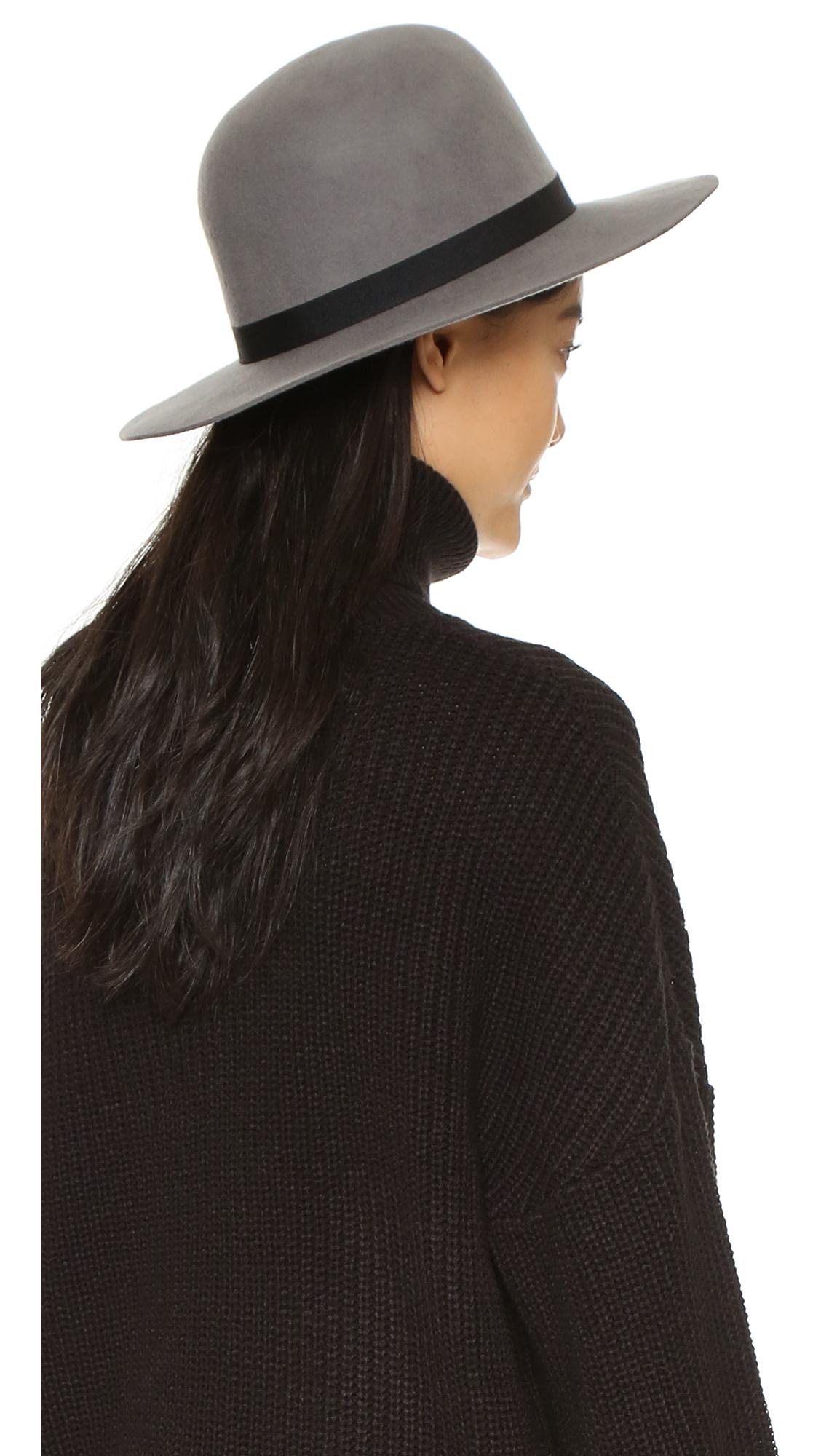 Brixton Colton Hat in Gray - Lyst e54388501cb6