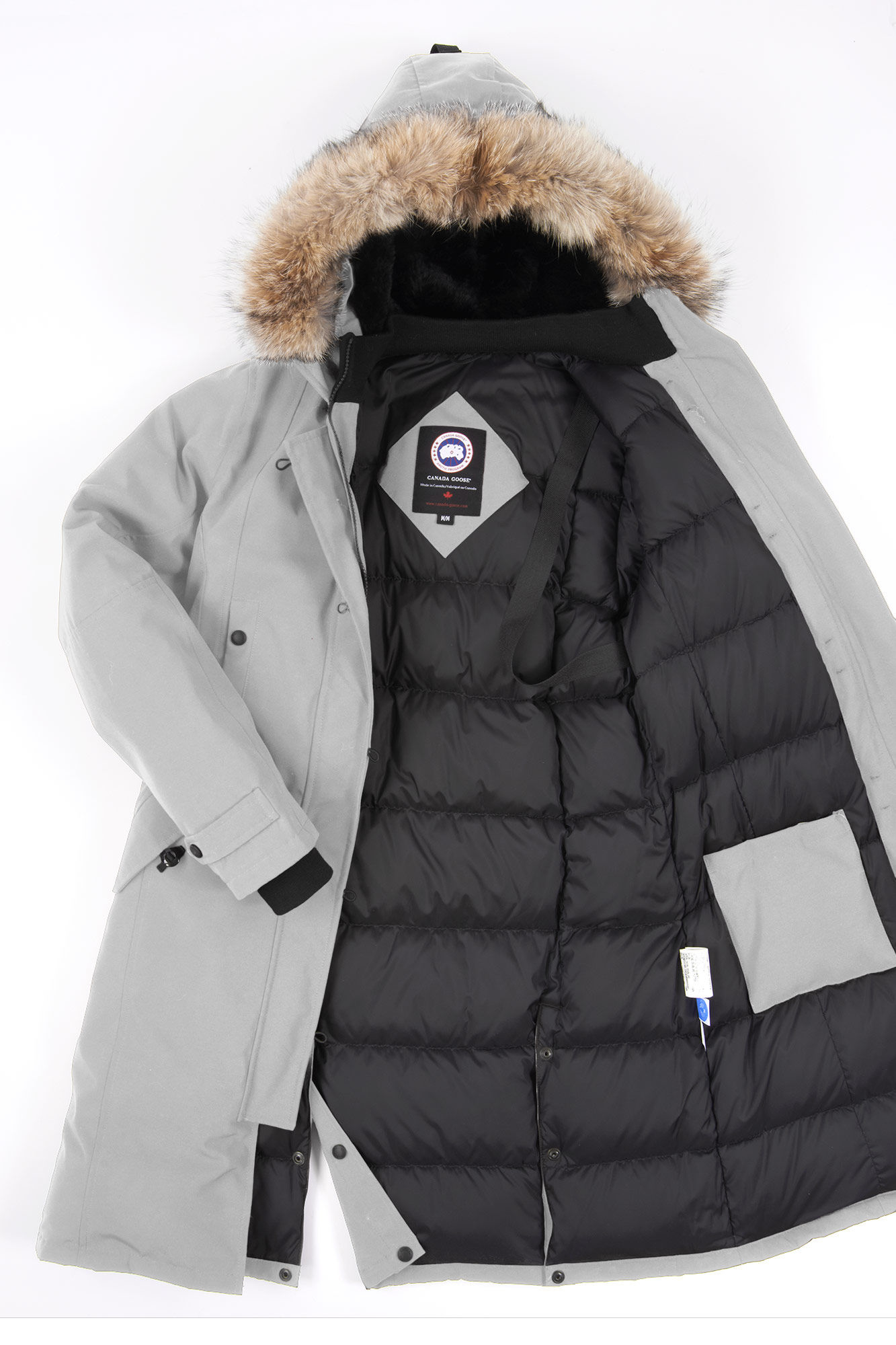 Canada Goose coats outlet price - Canada goose Kensington Parka in Gray (Silverbirch) | Lyst