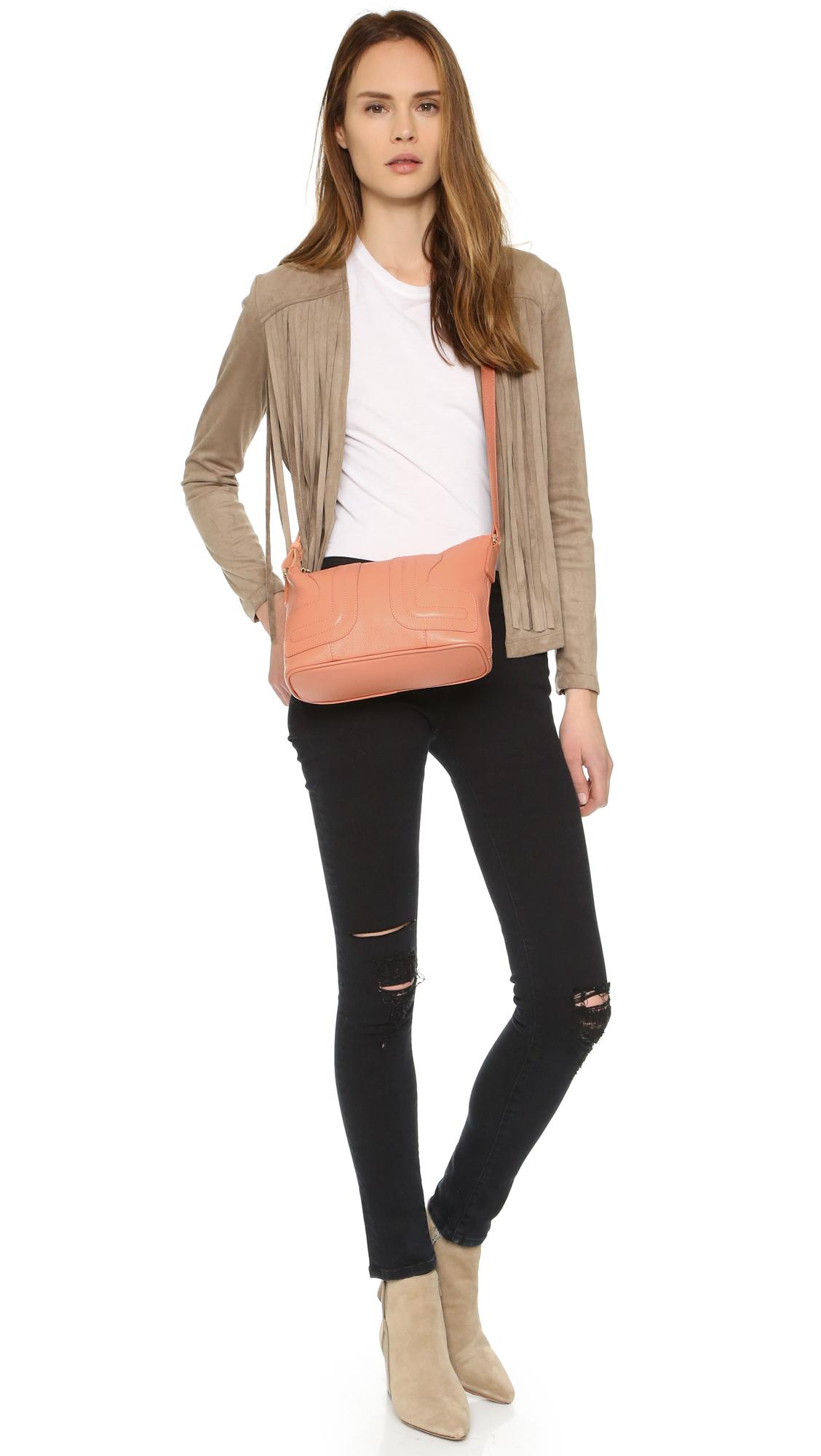 fake chloe purse - See by chlo�� Kay Cross Body Bag in Orange (Sweet Peach) | Lyst