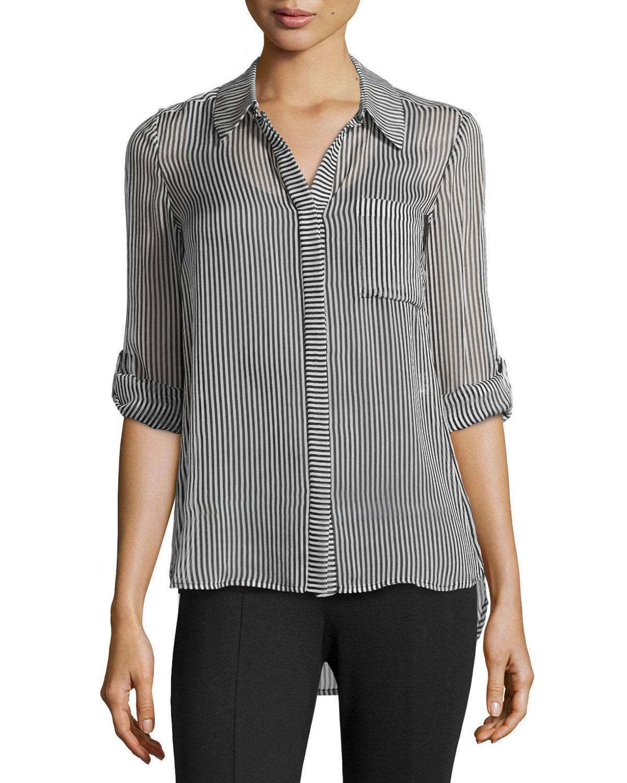 stripes blouse Diane Von F Ebay Sale Online For Sale Official Site qzrHD