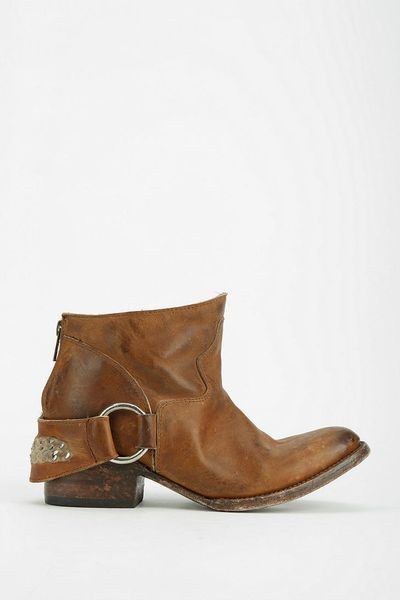 Freebird By Steven Hotel Ankle Boot In Brown Tan Lyst