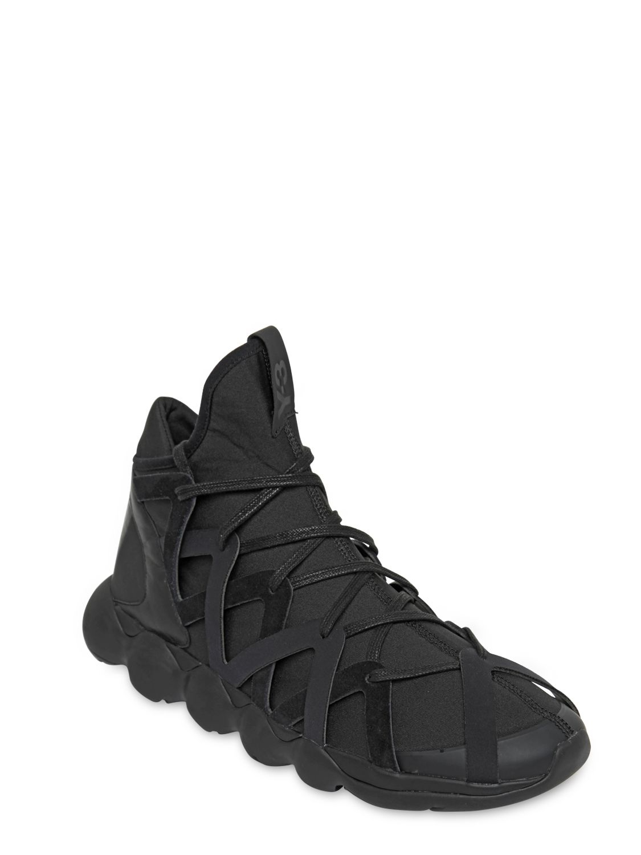 the best attitude 6ae6b 9feef Lyst - Y-3 Mens Kyujo High Sneakers In Black in Black for Me
