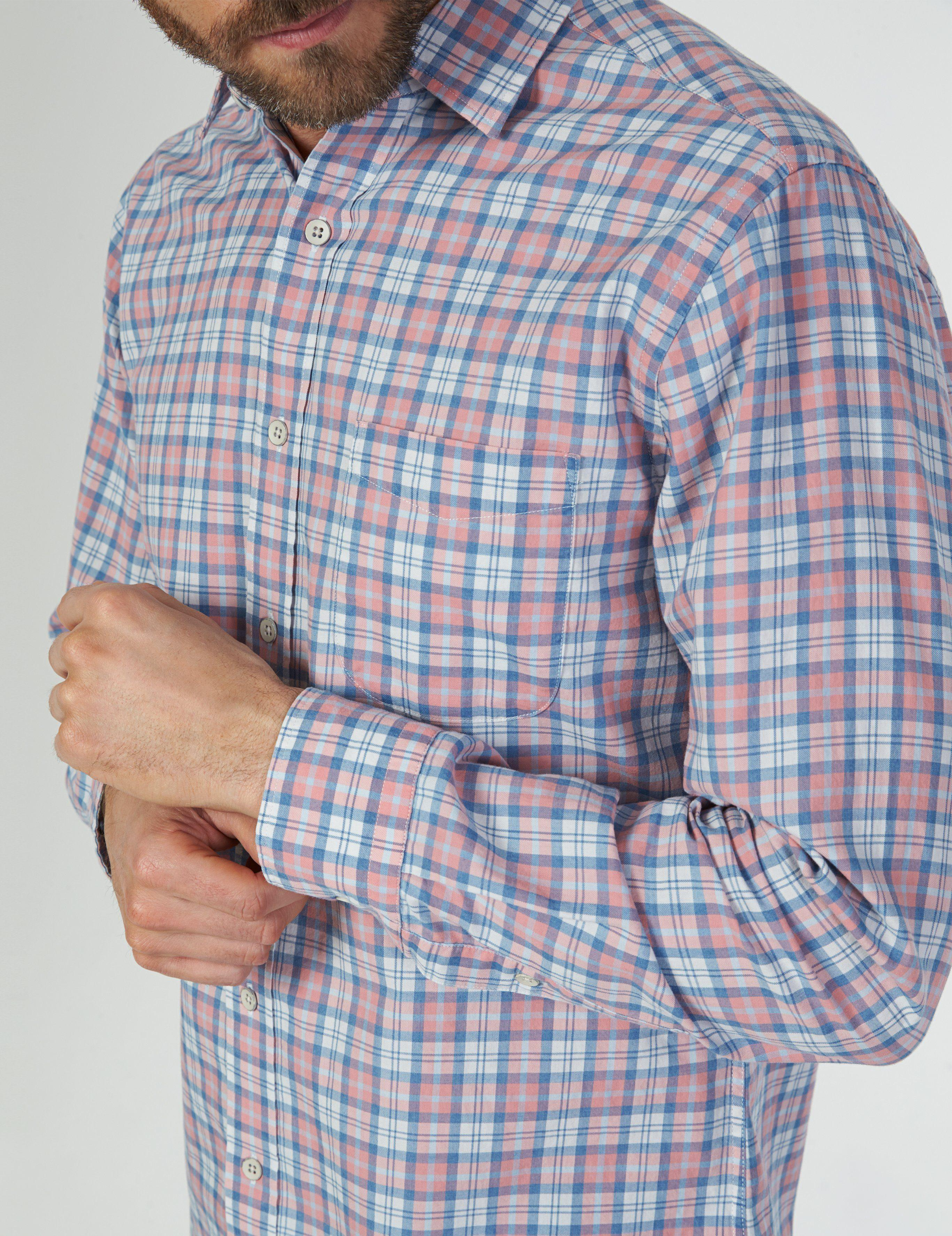 6fce392dc61 Lyst - Faherty Brand Everyday Shirt in Blue for Men
