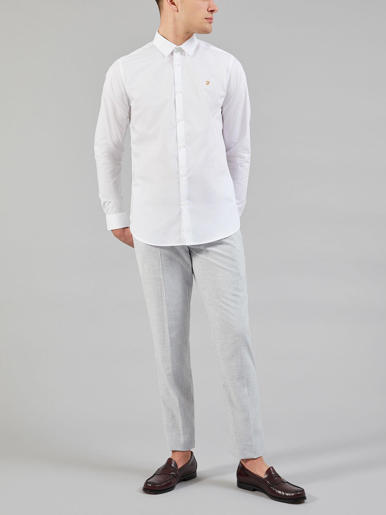 White Men Tailoring For Slim Shirt Lyst Farah In Handford m8vN0wPynO