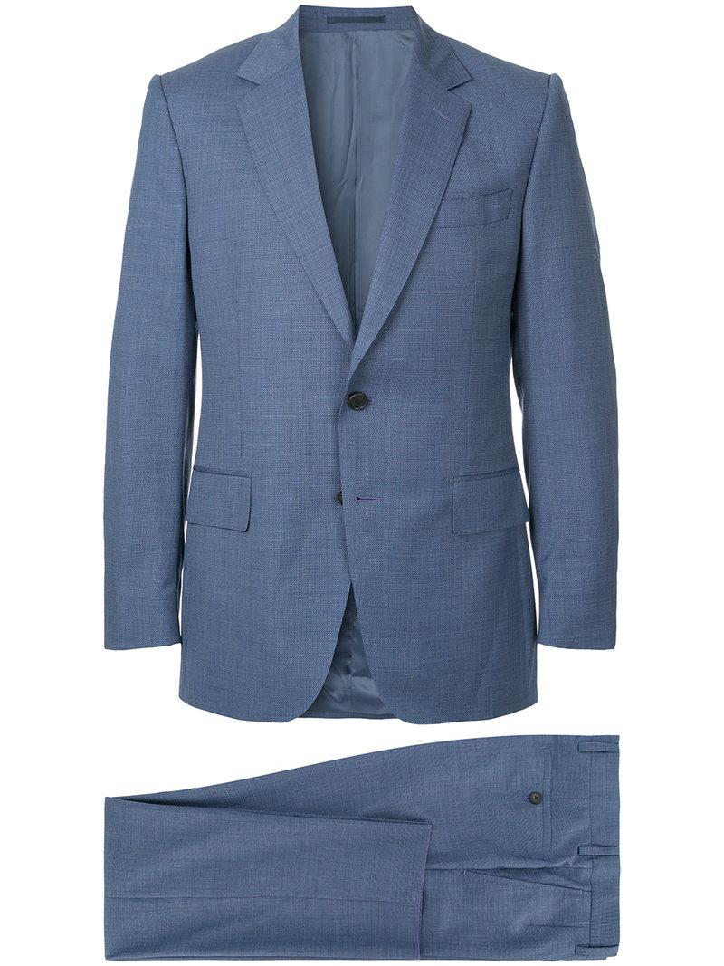 0d44d24492d7 Gieves & Hawkes Two-piece Formal Suit in Blue for Men - Lyst