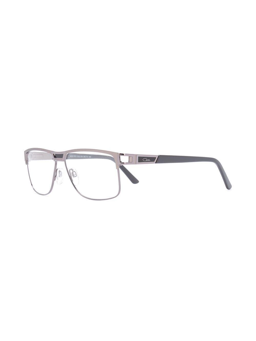 b2b729b2cf4b Cazal Rectangle Frame Glasses in Metallic for Men - Lyst