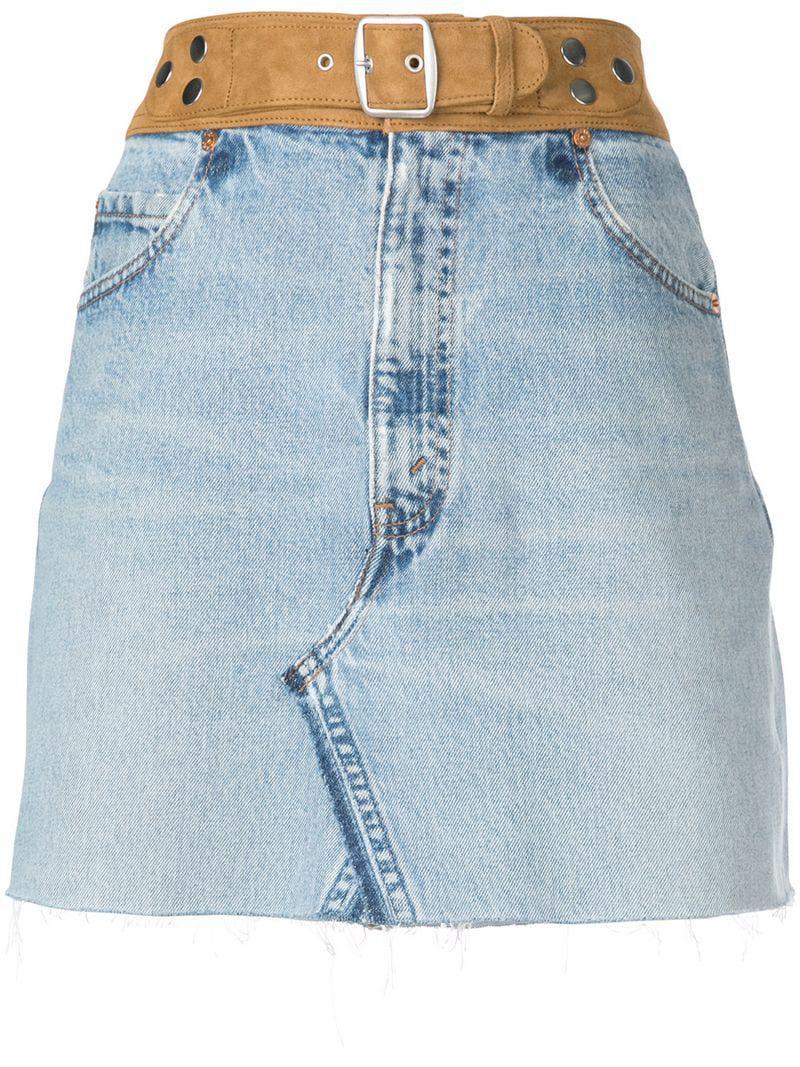 c37ffaf157adaa redone-blue-Belted-Raw-Hem-Denim-Skirt.jpeg