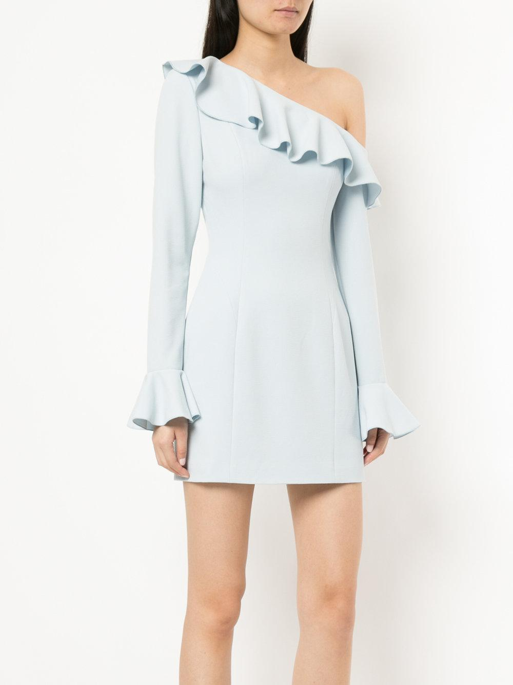 Rebecca Vallance Aegean One Shoulder mini dress Wiki For Sale For Sale Wholesale Price Pay With Paypal Cheap Online Free Shipping Best Wholesale Q6v8Xk8