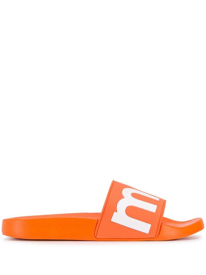 a5ae4b116bf7bc Lyst - Isabel Marant Logo Sliders in Orange