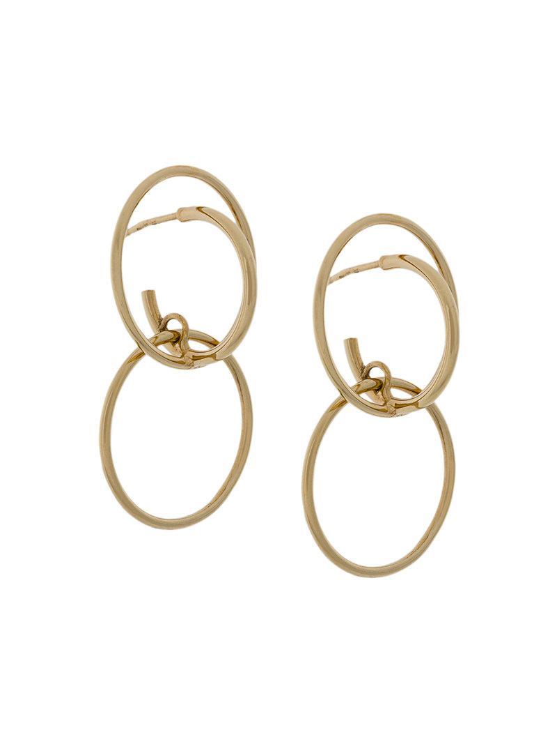Galilea medium earrings - Metallic Charlotte Chesnais 6var0D