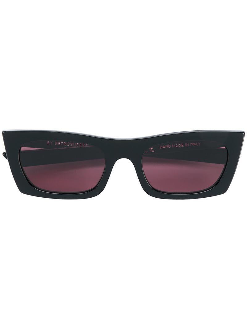 ad0062969 Retrosuperfuture Fred Square Frame Sunglasses in Purple - Lyst