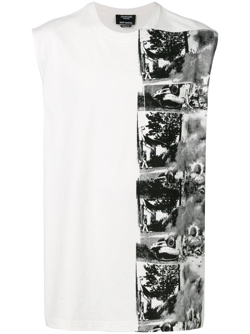 c80cbbc50710c3 Lyst - Calvin Klein 205W39Nyc X Andy Warhol Foundation Car Crash ...