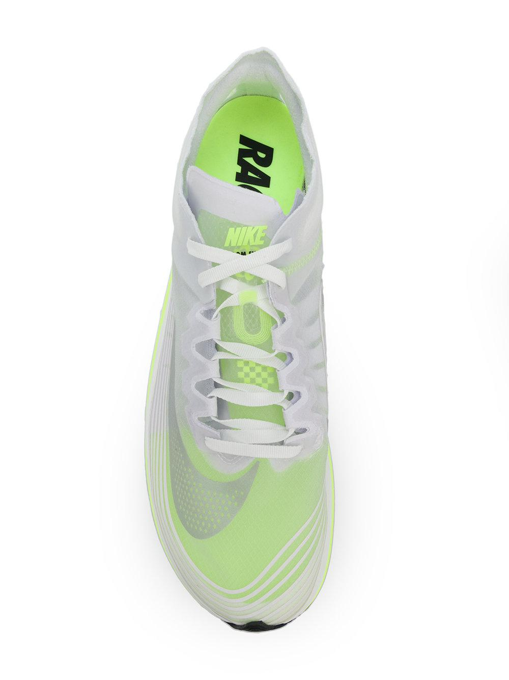 2d99f07537ef7 Lyst - Nike Lab Zoom Fly Sp Sneakers in White