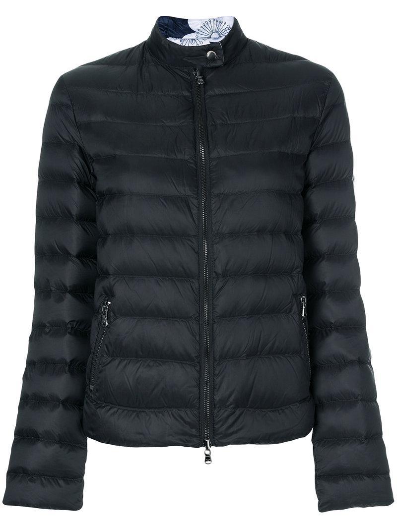 Lyst - Doudoune à design réversible Emporio Armani en coloris Noir 29c916d353d