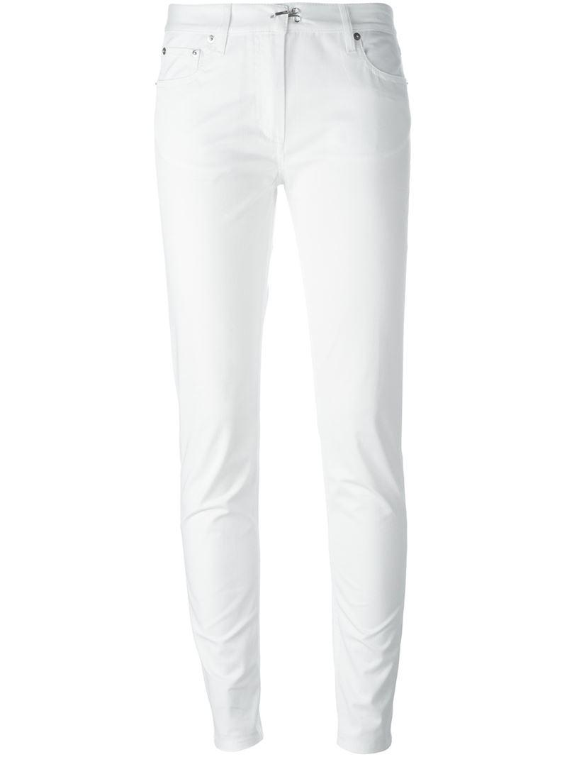 Maison Martin Margiela classic skinny-fit jeans - White Recommend Outlet 100% Authentic For Sale Footlocker Cheap Price Pre Order fLnE4MH37