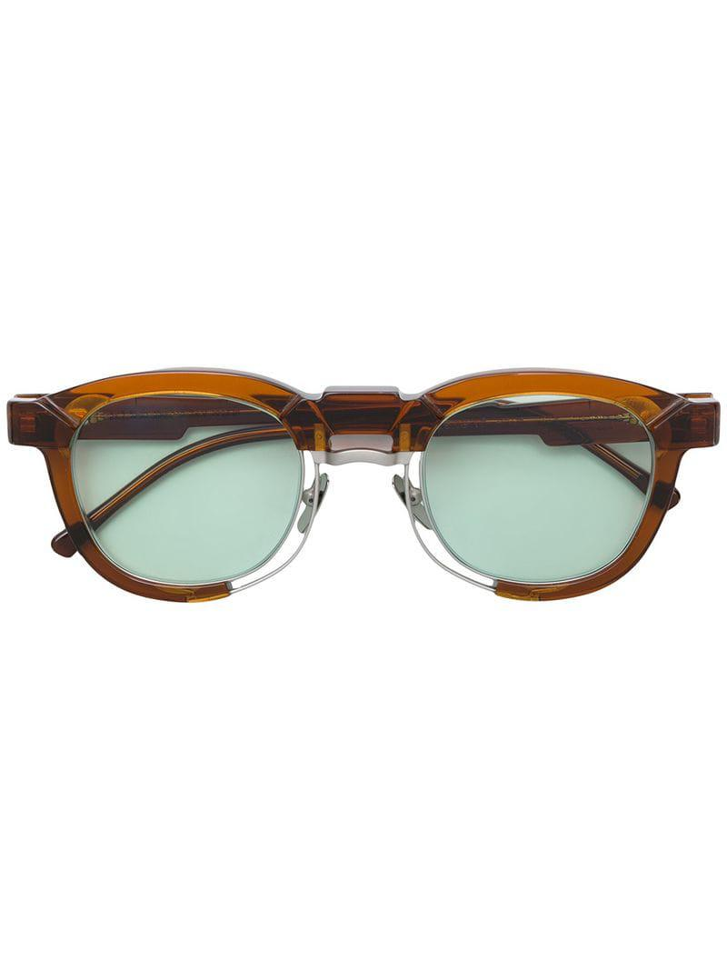 6354f3435 Gafas de sol N5 Kuboraum de color Marrón - Lyst
