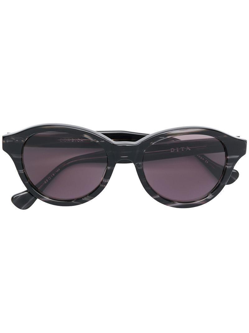 ba0485330ae9 Dita Eyewear Corsica Sunglasses in Black - Lyst