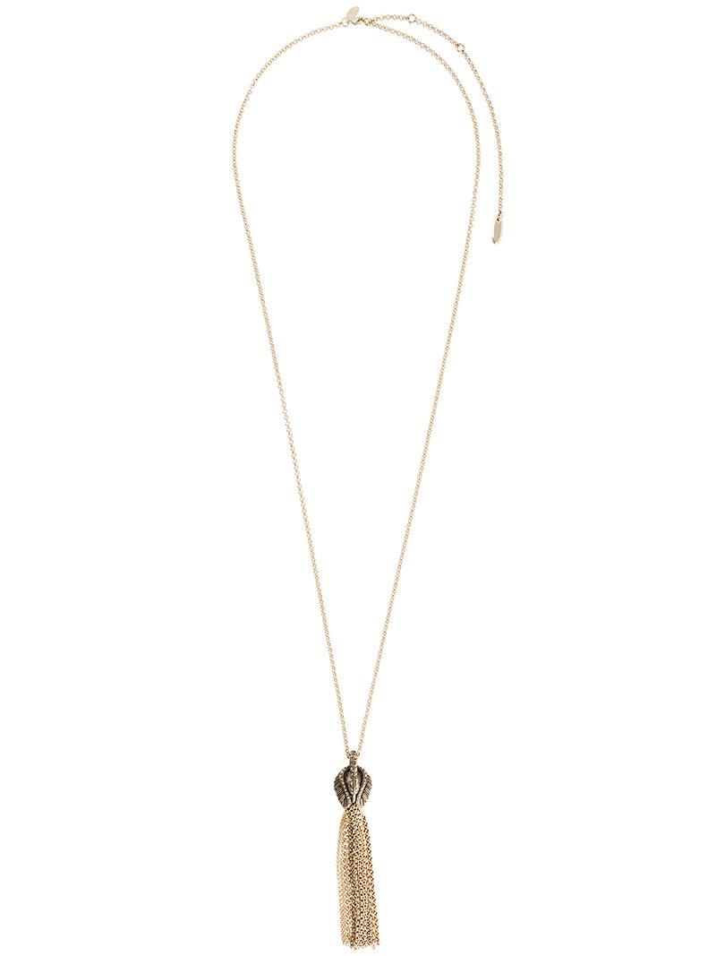 Lanvin spiral spread necklace - Metallic r9VCVm