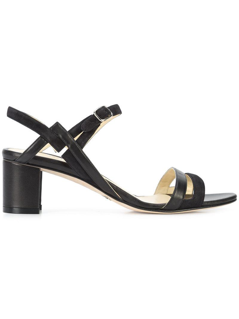 Cynthia sandals - Black Sarah Flint 42YkePve