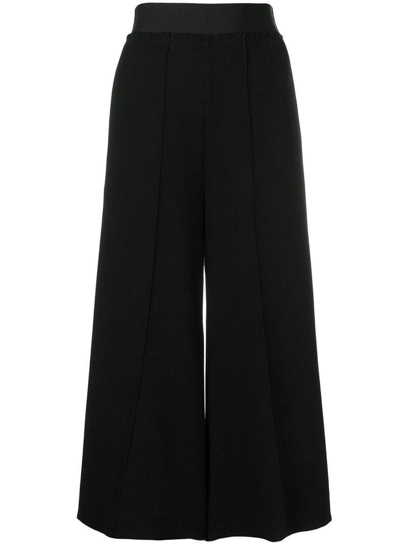 Culottes De Taille Élastiquée - Noir Maison Martin Margiela SHgGdRC