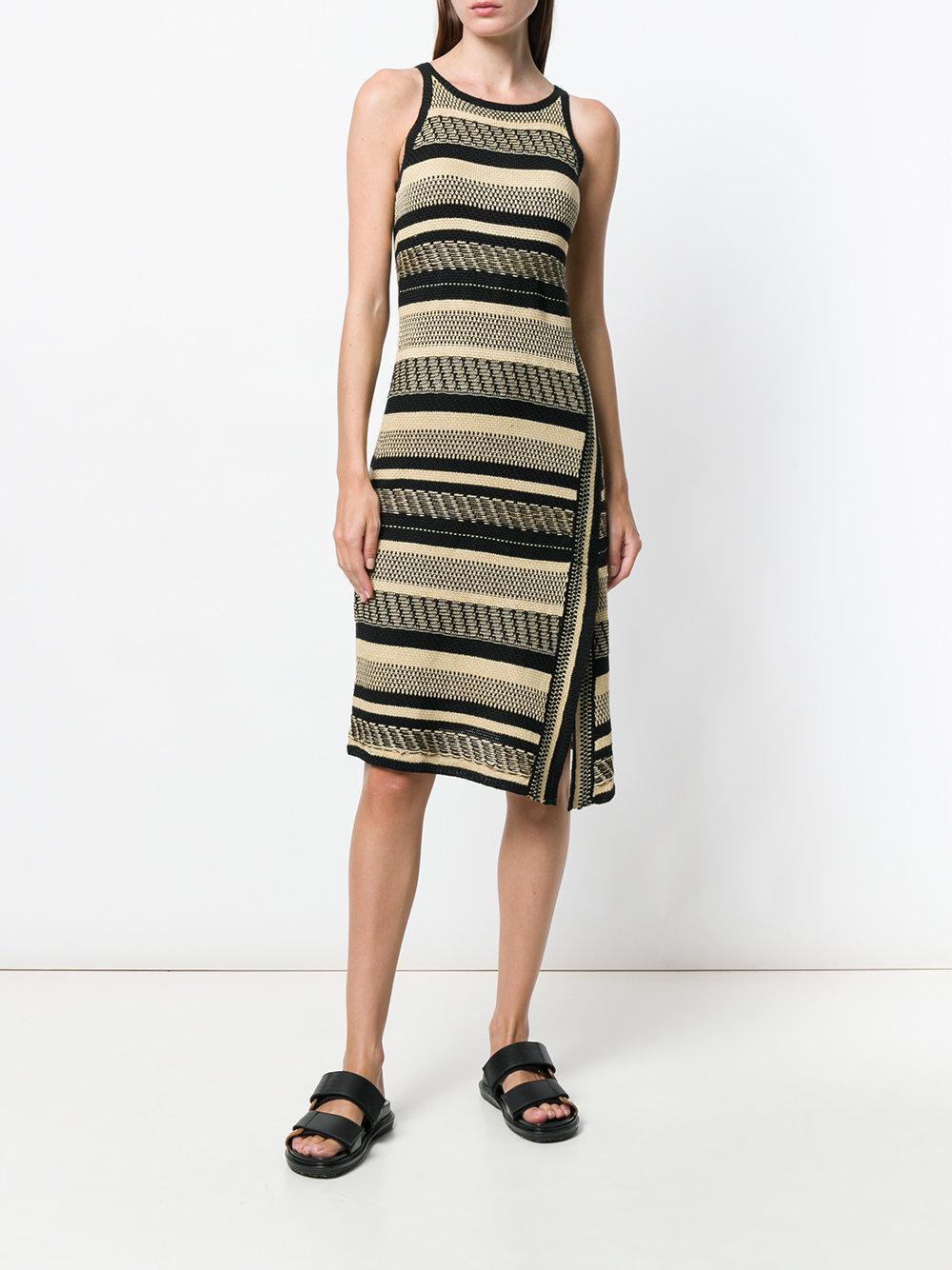 raul lauren polo lauren ralph lauren striped wrap dress