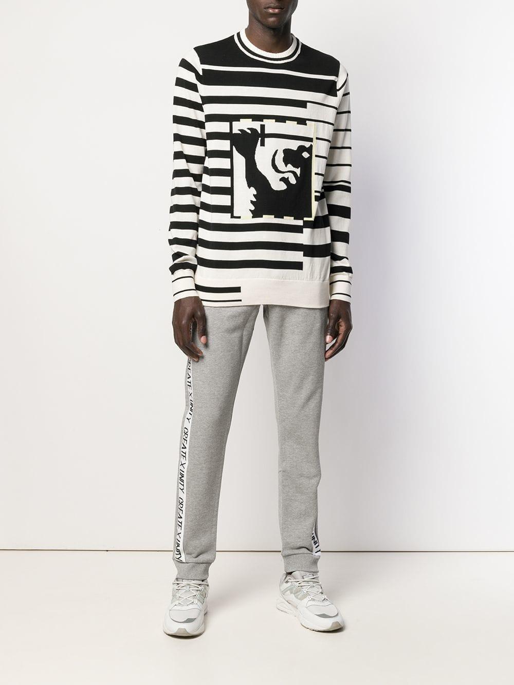 4bf2ba58ac7 Lyst - Pantalones de chándal con logo Tommy Hilfiger de hombre de color Gris