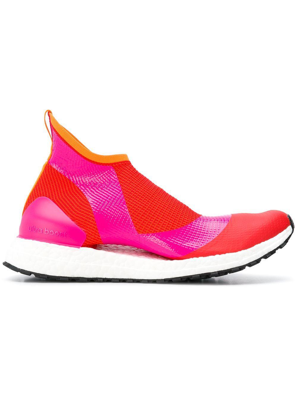 the latest 86eff b883f Adidas By Stella Mccartney Ultraboost Sock Sneakers in Yellow - Lyst