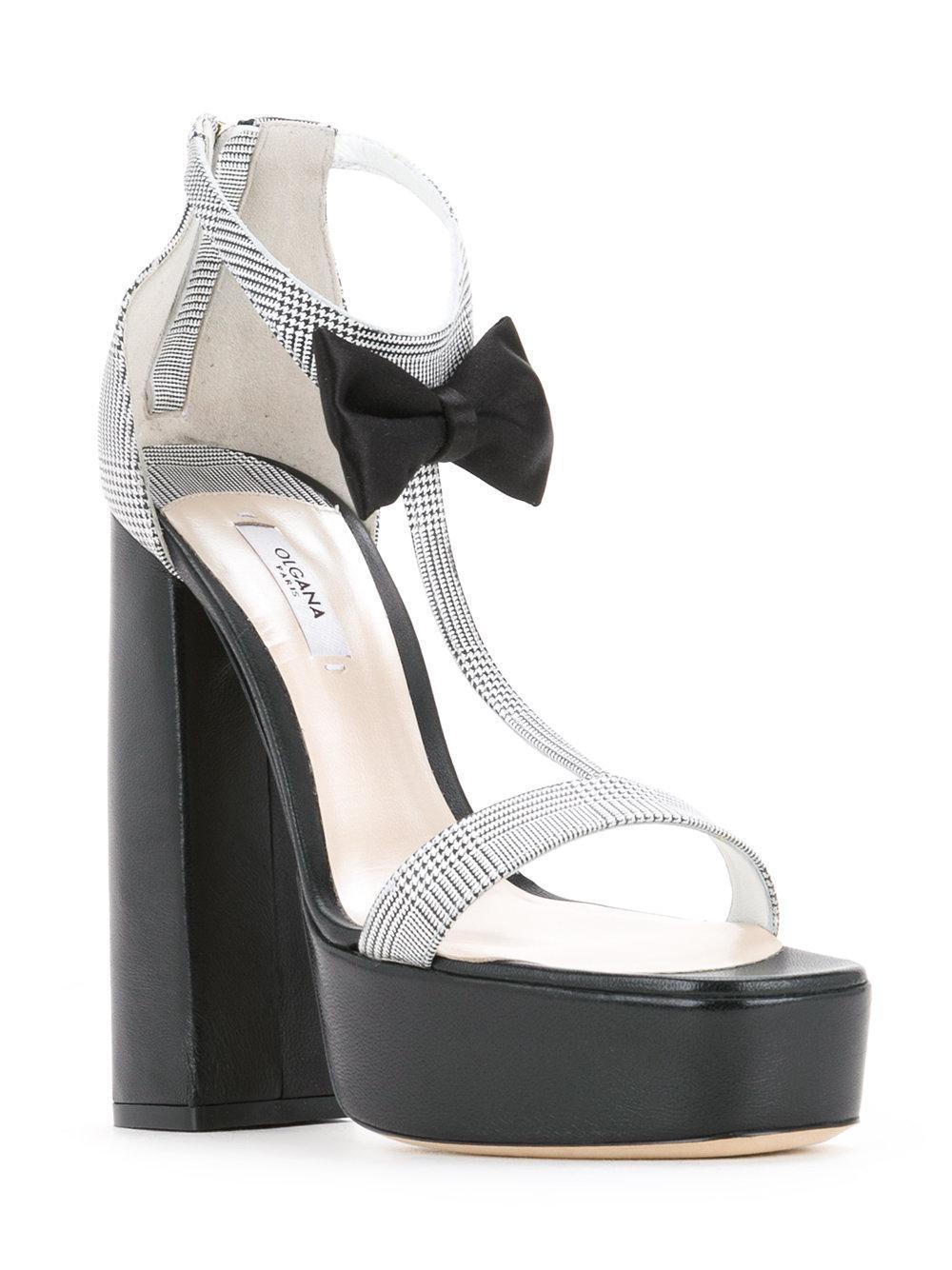 Sandales Plate-forme Olgana - Noir bdBiUihoYw