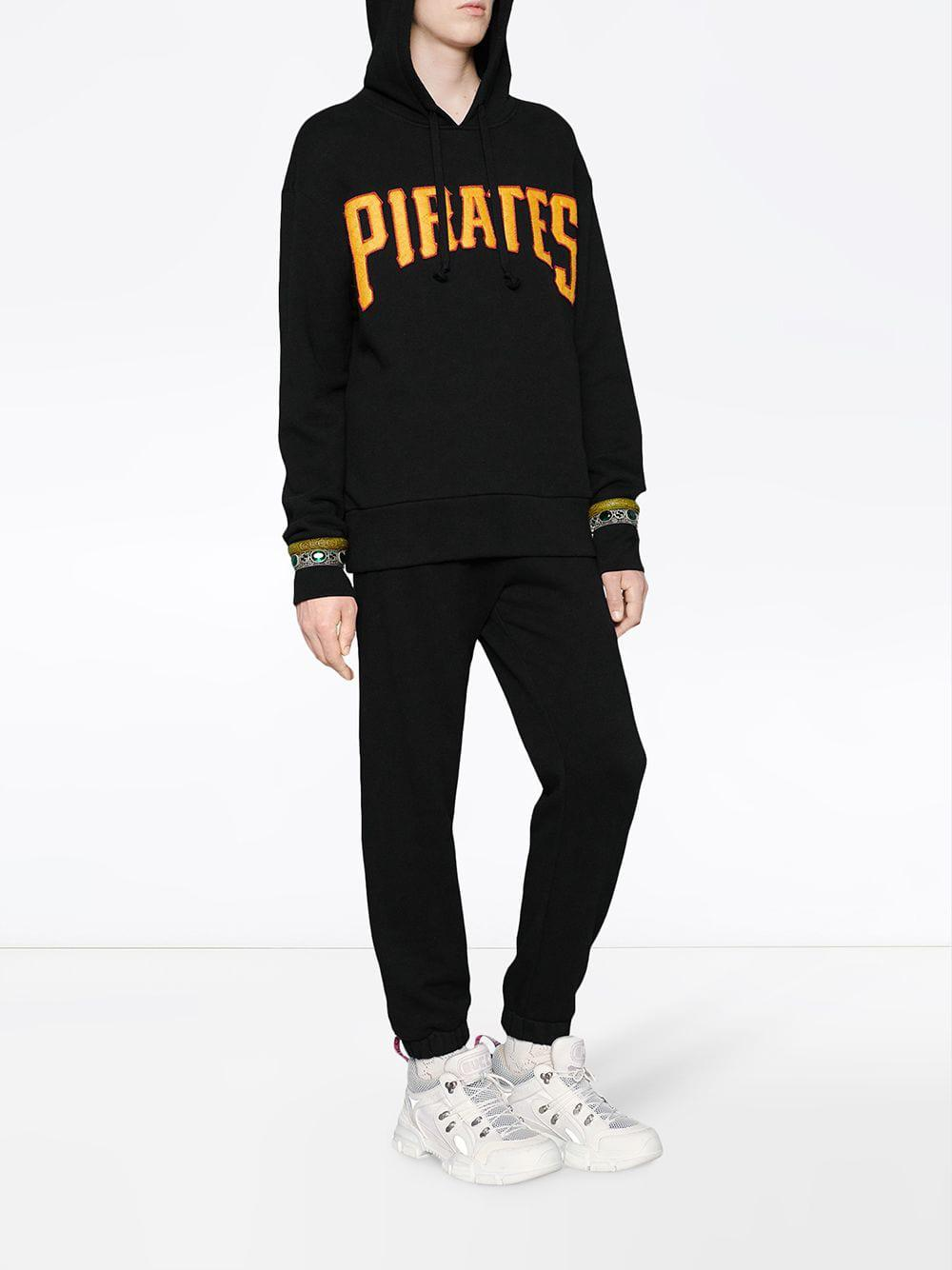 7b23d02fc2e Gucci Men s Sweatshirt With Pittsburgh Piratestm Patch in Black for Men -  Lyst
