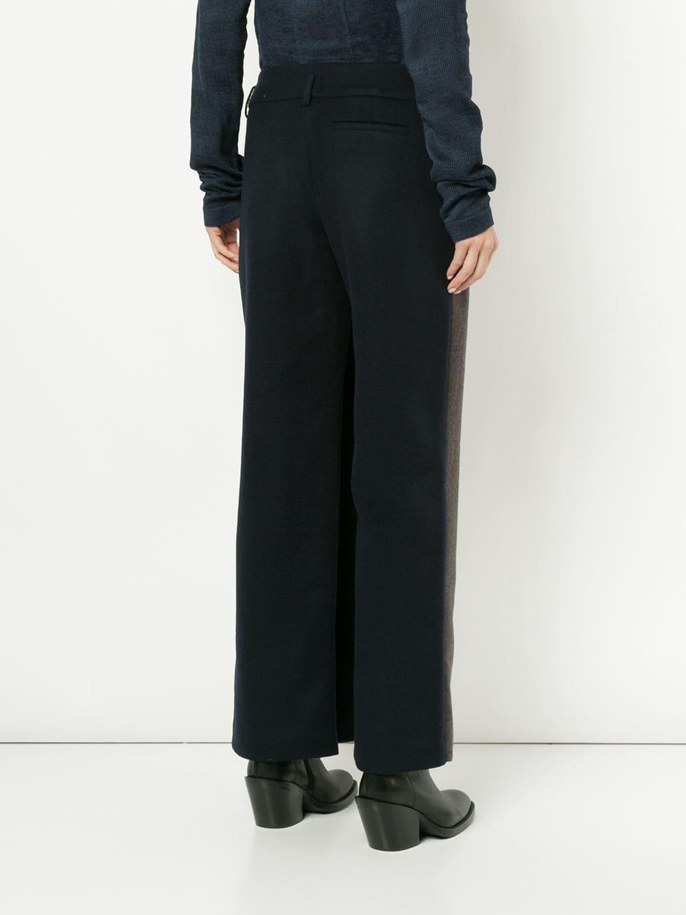 de2ea5d984 Lyst - Nehera Slit Detail Wide-leg Trousers in Brown