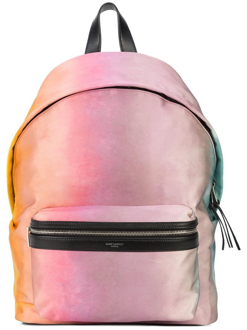 gradient backpack - Multicolour Saint Laurent ZlwpKdFD4U