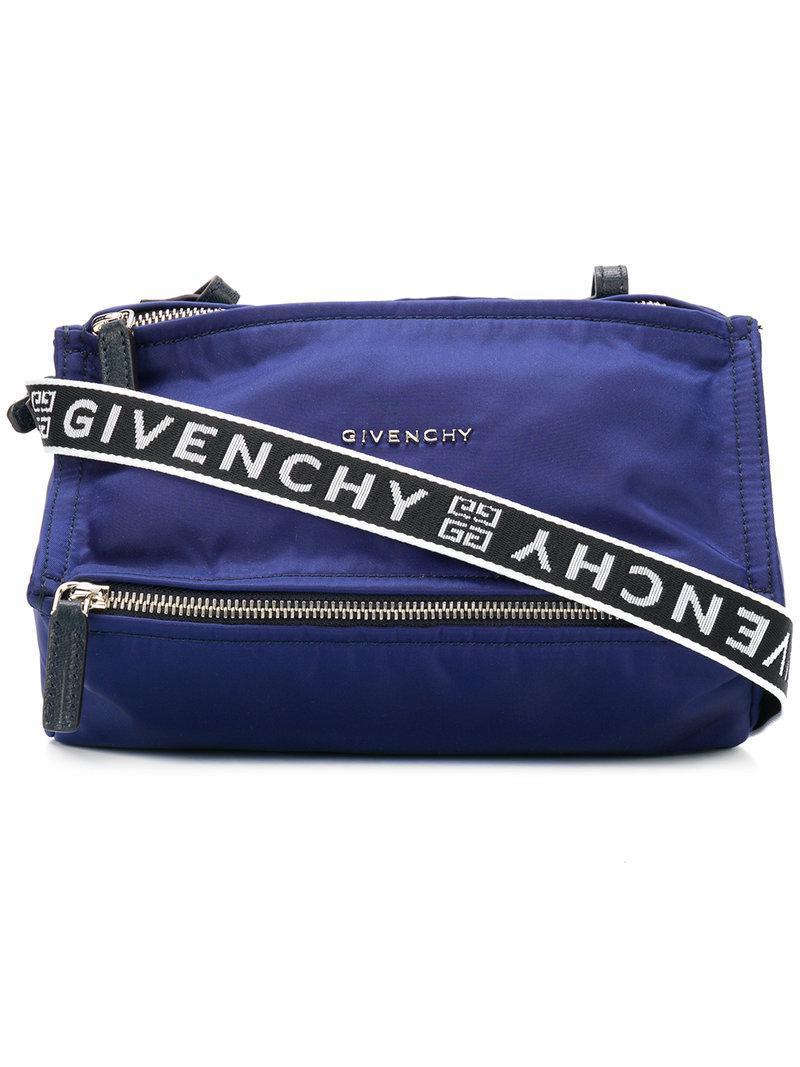 59aece06c0 Givenchy - Blue Mini Pandora Bag - Lyst. View fullscreen