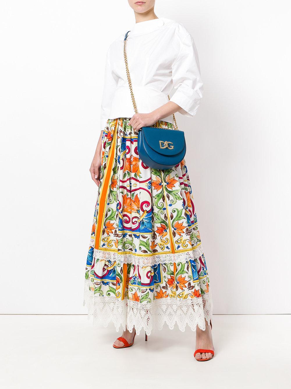 b8ed85629708 Lyst - Dolce   Gabbana Wifi Cross Body Bag in Blue