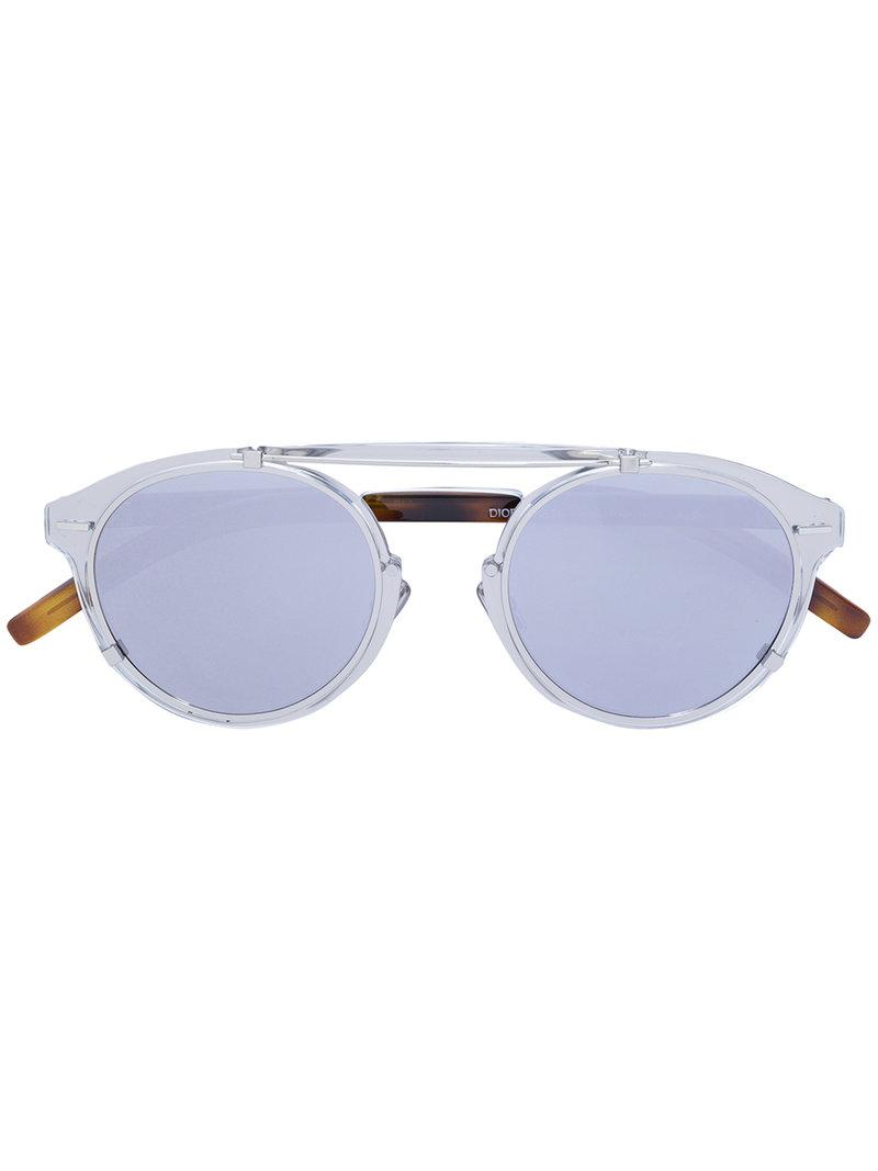 4ff200778f Lyst - Dior Genese Sunglasses in Metallic for Men