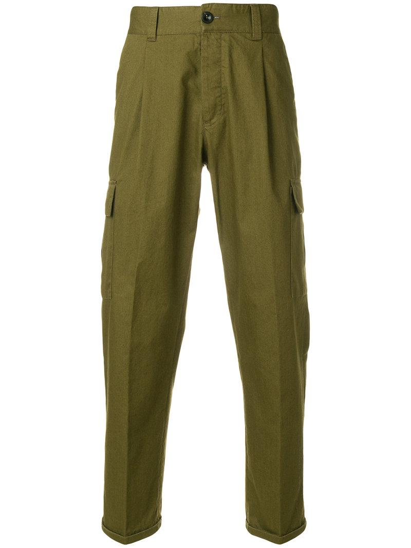 Outlet 100% Guaranteed front pleat trousers - Green PT01 Good Selling Cheap Online Original Cheap Online j7SmQ