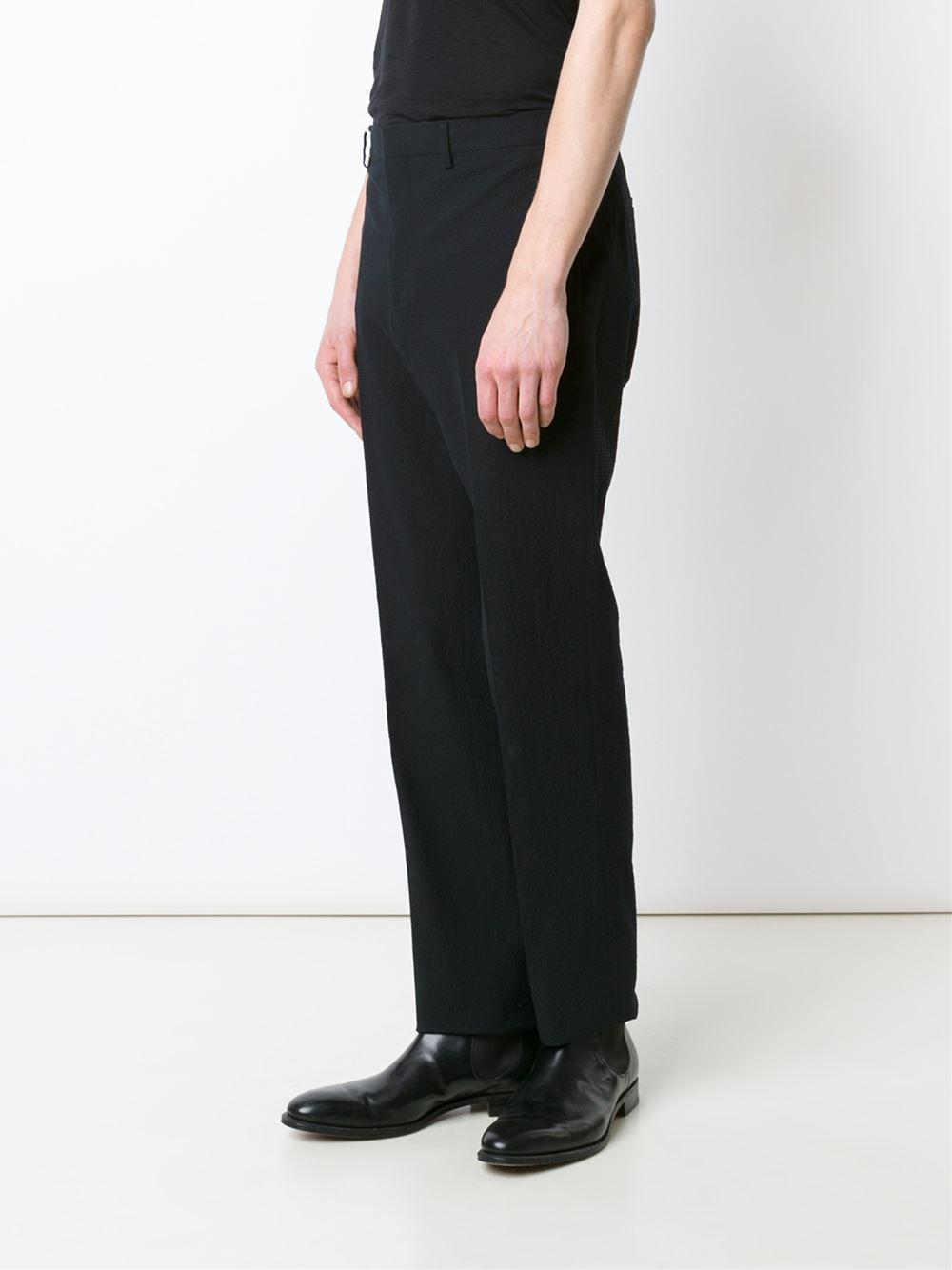 textured tailored trousers - Black Givenchy 9q8hNNw7