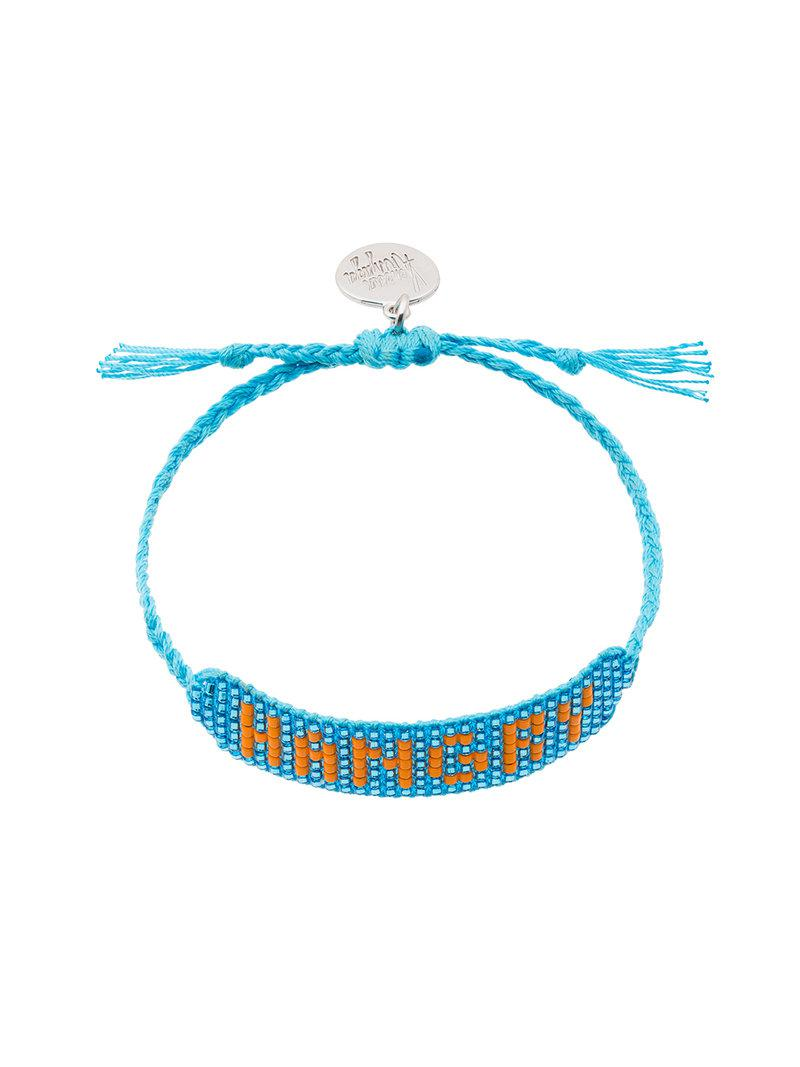 Venessa Arizaga hangry bracelet - Blue Crz9AiH