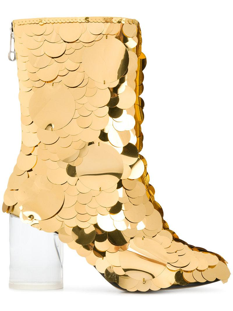Maison Margiela Socks sequin embellished boots free shipping cheap online pPo2sfY95