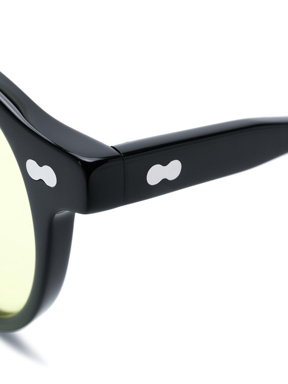Miltzen en Moscot Lunettes de soleil Noir Lyst coloris USfgn