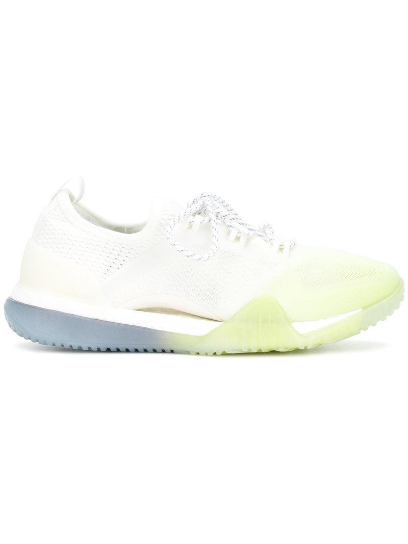 5baf2d4bbe0 adidas By Stella McCartney. Women s White Pureboost X Tr 3.0 Sneakers