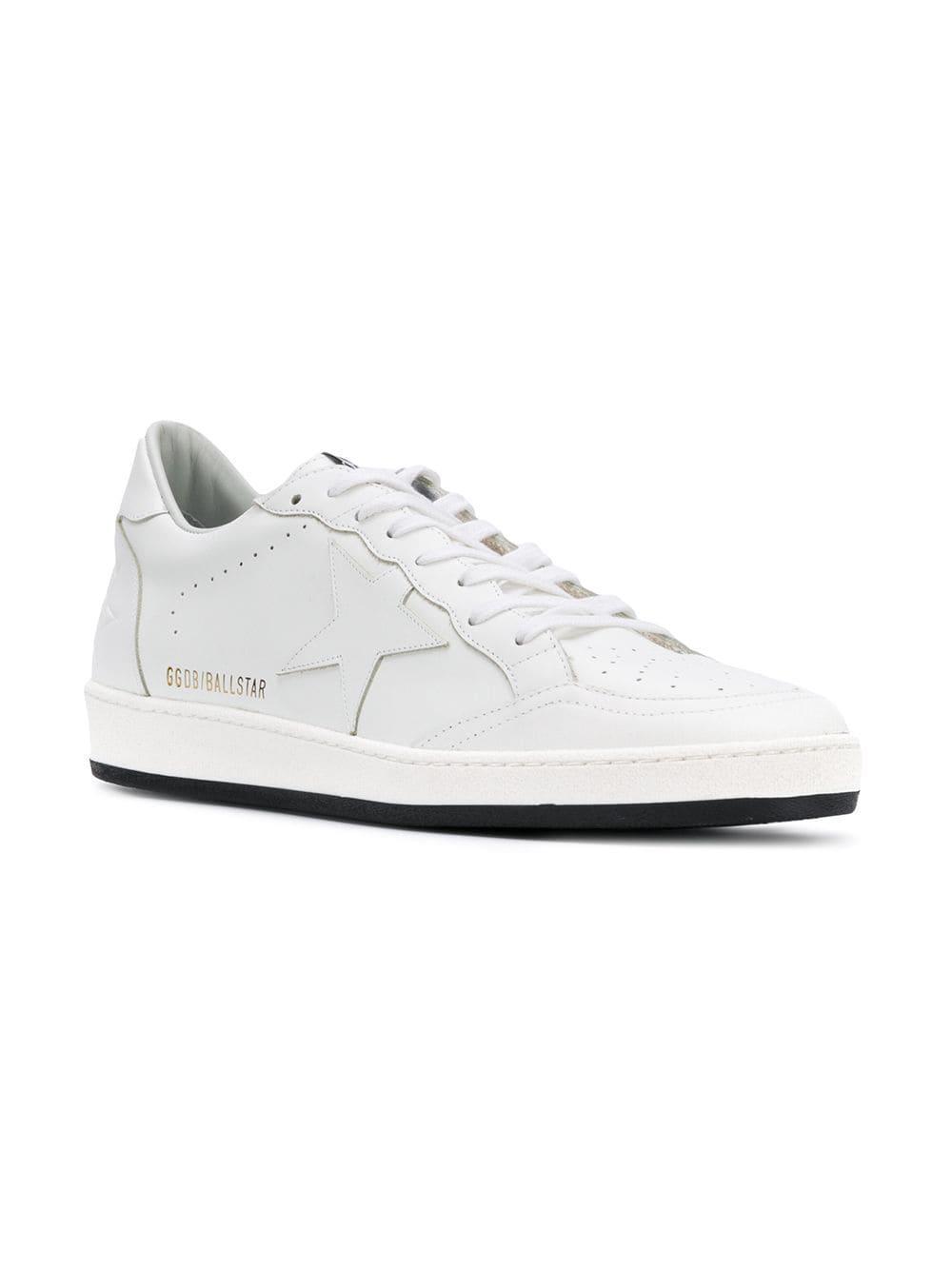380cd42e6149e Golden Goose Deluxe Brand Ballstar Sneakers in White for Men - Lyst