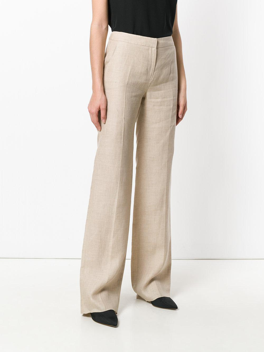 wide-leg trousers - Nude & Neutrals Max Mara hkcyekPY