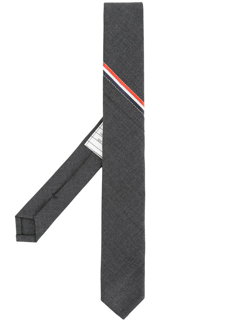 584cad3c9a68 Lyst - Thom Browne Classic Necktie With Seamed In Red