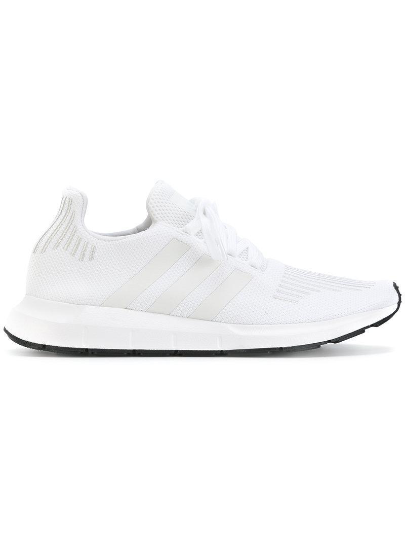 new concept c4f87 d6e36 Adidas Originals Swift Run Sneakers in White for Men - Lyst