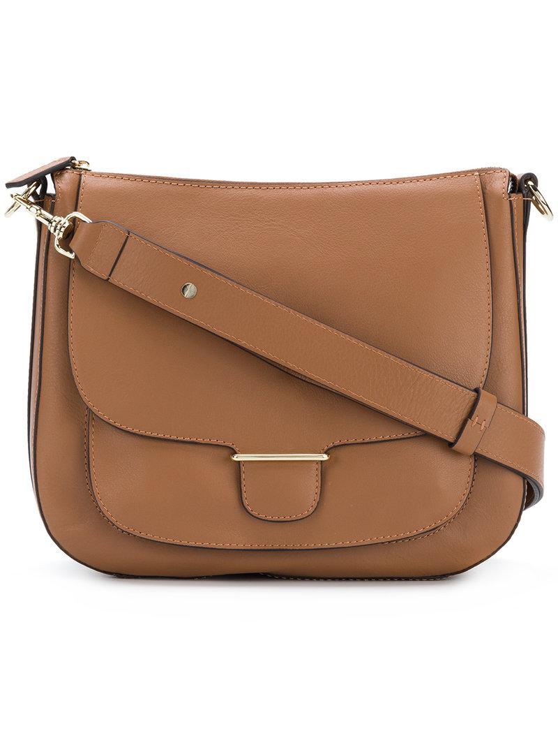 Garance Saddle bag - Brown Tila March tux5VtFFbX