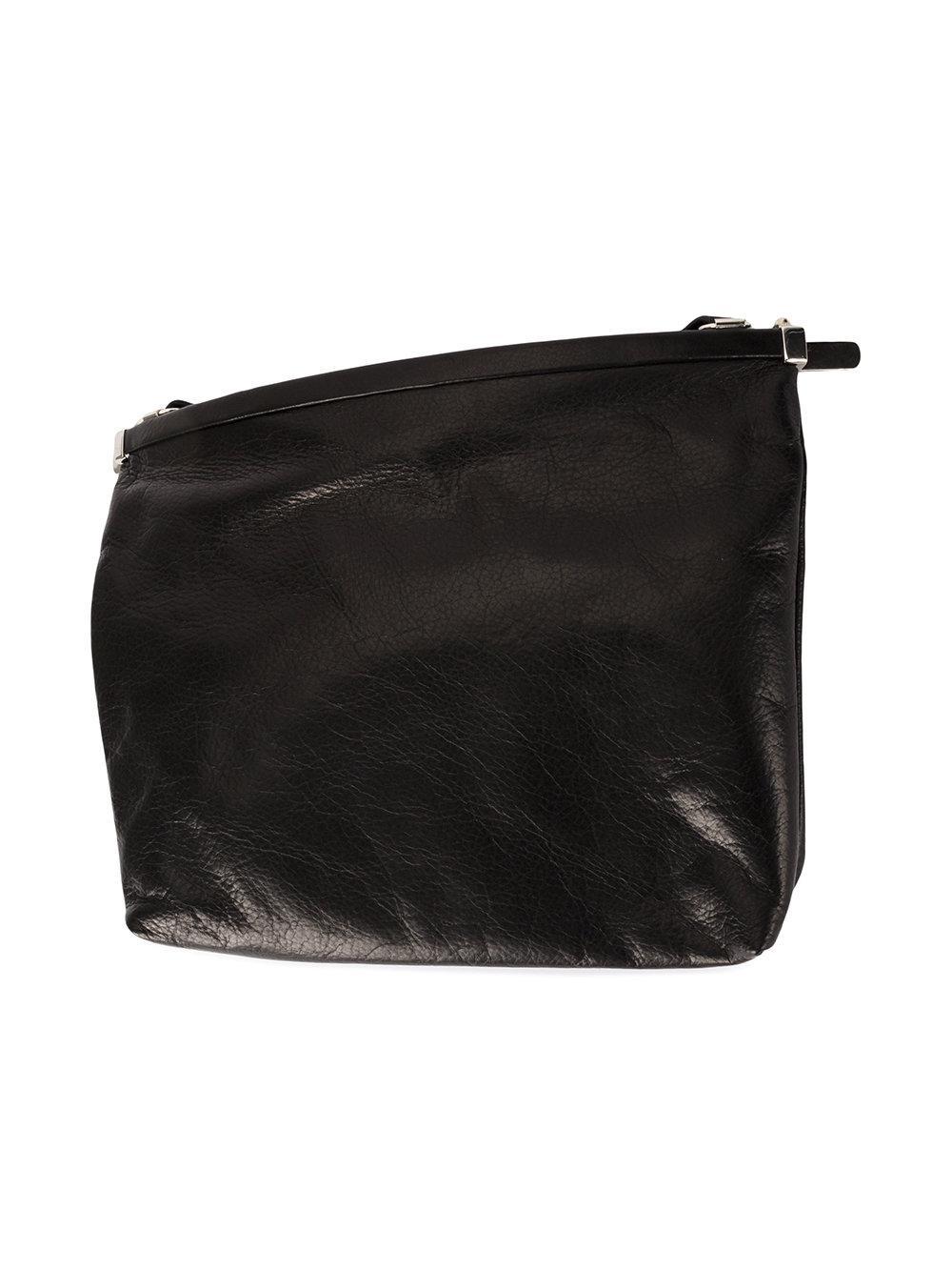 top zip shoulder bag - Black Ann Demeulemeester nrXiE